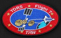 STS-70 TDRS Satellite Flight 7 Patch - Astronaut Don Thomas Collection